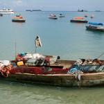 Boot, Ostafrika, Tanzania | Bild (Ausschnitt): © Fanny Schertzer - Wikimedia Commons