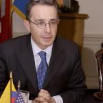 Uribe, der ehemalige Präsident Kolumbiens