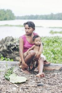 Delta de Orinoco pueblo de Warao