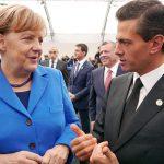 Kanzlerin Merkel und Präsident Nieto im Gespräch Kanzlerin Merkel und Präsident Nieto im Gespräch | Bild (Ausschnitt): © Presidencia de la República Mexicana - wikimedia commons