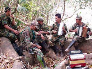 Farc im Dschungel von Kolumbien