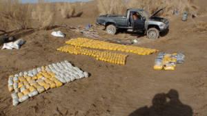Drogentransport in Afghanistan aufgedeckt