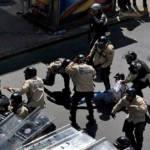 Oppositionsdemonstration gegen die Regierung des venezolanischen Präsidenten Nicolas Maduro