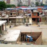 Slums in Argentinien.