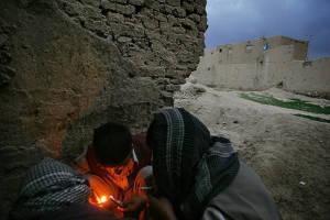 Drogenabhängige in Afghanistan