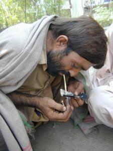 Pakistan Heroinkonsum