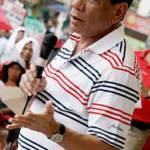 Rodrigo Duterte Der philippinische Präsident Rodrigo Duterte kämpft in seinem Land mit harten Bandagen gegen Drogen und Terror | Bild (Ausschnitt): © Keith Kristoffer Bacongco [CC BY 2.0]  - Wikimedia Commons