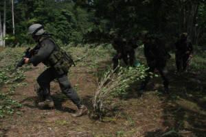 Kolumbianische Polizei
