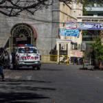Philippinisches Polizeiauto in Vigan city In den vergangenen Wochen hatten sich die Tötungen unschuldiger Zivilisten gehäuft, woraufhin Dutertes Umfragewerte in den Keller schossen.  | Bild (Ausschnitt): ©  adrianpua [CC BY-NC-ND 2.0]  - Flickr