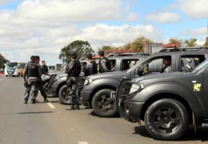 Ecuadorianische Polizisten