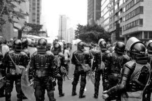 Polizei in Kolumbien