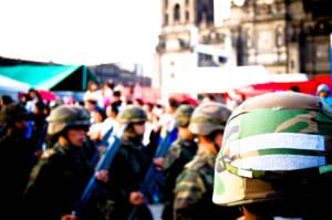 Soldaten Mexiko
