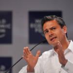 Enrique Peña Nieto Peña Nieto ist seit 2012 Präsident von Mexiko. Er führte den brutalen Drogenkrieg seines Vorgängers weiter. | Bild (Ausschnitt): © World Economic Forum [CC BY-NC-SA 2.0]  - Flickr