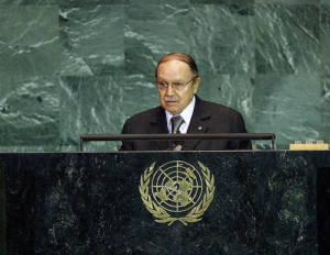 Präsident Algeriens Abdelaziz Bouteflika