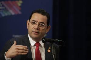 Jimmy Morales, Präsident Guatemala