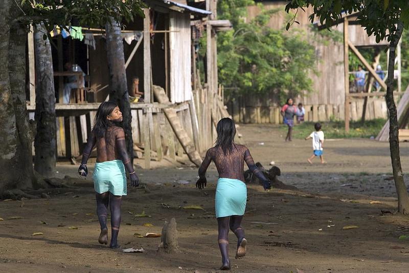Vertreibung Indigener in Kolumbien